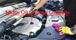 Midas oil change coupon