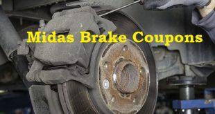 midas brake service coupons