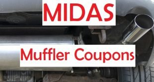 Midas muffler coupons