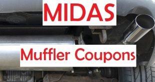 Midas muffler coupons