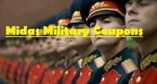 Midas military coupons